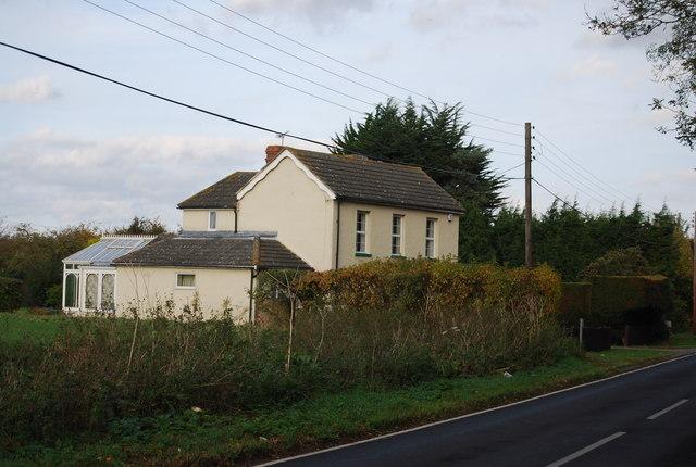 House near Bell Wood