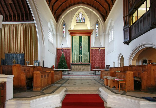 St Hilda with St Cyprian, Brockley Road, Crofton Park - Chancel