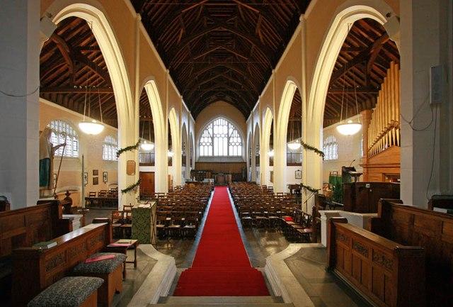 St Hilda with St Cyprian, Brockley Road, Crofton Park - West end