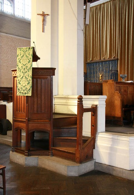St Hilda with St Cyprian, Brockley Road, Crofton Park - Pulpit