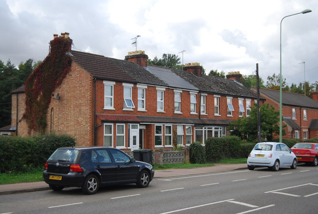Row of Terraced houses, Station Rd