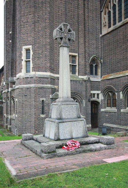 St Hilda with St Cyprian, Brockley Road, Crofton Park - War Memorial