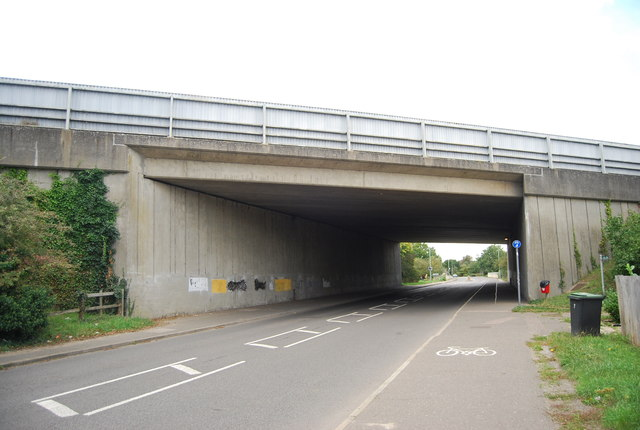A14 Bridge, Station Rd
