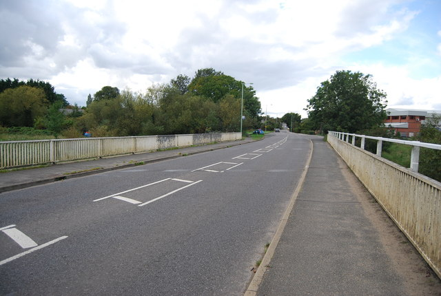 Station Rd crosses the River Gipping