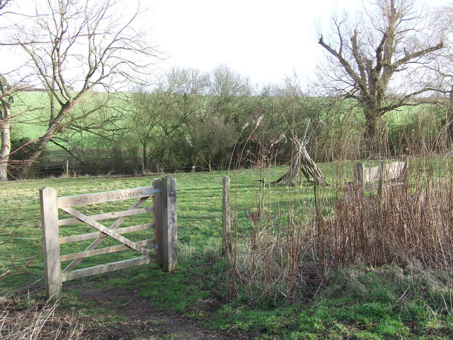 Gate Into Earl's Meadow