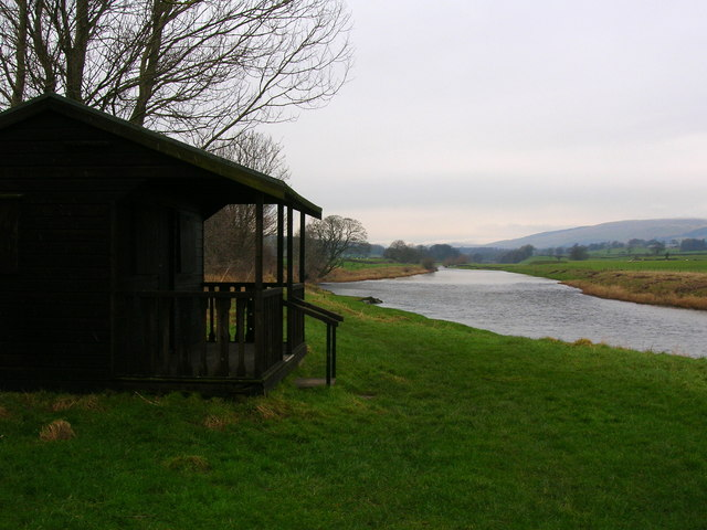 Fishermen's hut by River Lune