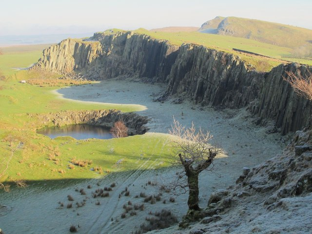 (Disused) quarry near Walltown (3)