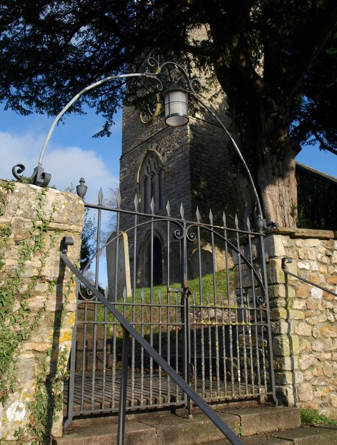 Churchyard gate, Awliscombe