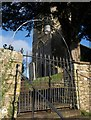 ST1301 : Churchyard gate, Awliscombe by Derek Harper