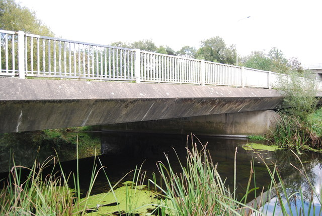 Station Road Bridge over the River Gipping