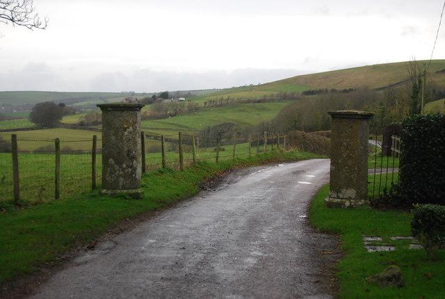 Gate posts, Littlebredy