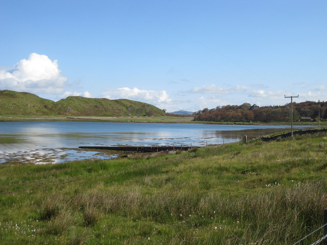 Old jetty in Loch Beag