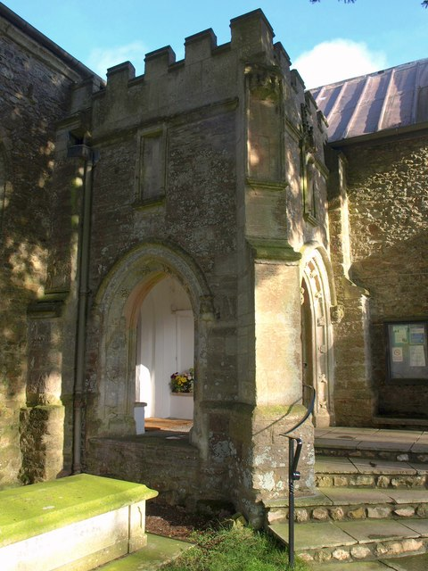 Porch, Church of St Michael and All Angels, Awliscombe