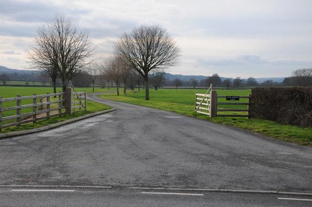 Entrance to Lady Arbour Farm