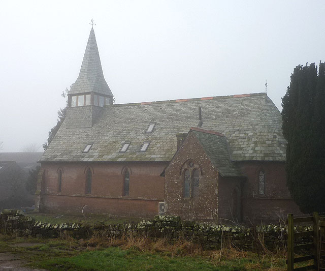 Converted church at Gamblesby