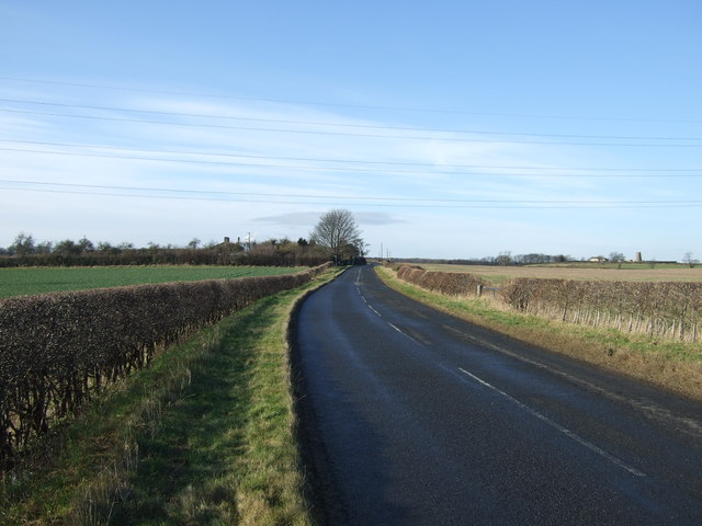 Toulston Lane towards Bramham