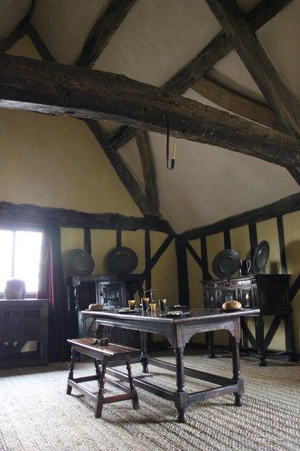 Inside Aberconwy House, Conwy