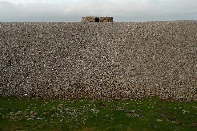 Gun emplacement on Bossington Beach
