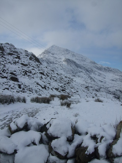 Crib Goch from Pen y Pass