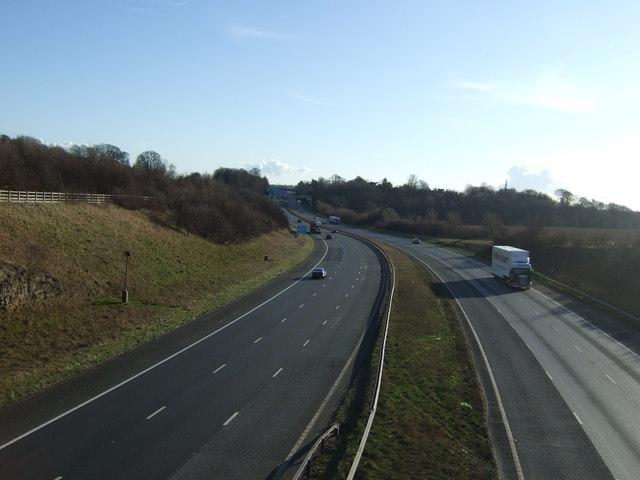 A1(M) southbound near Bramham