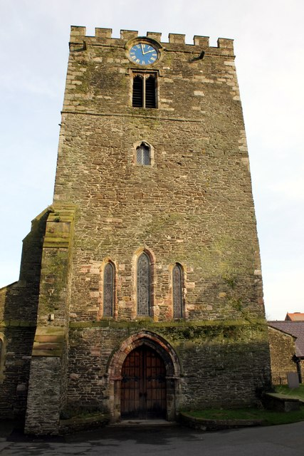 The Tower of St Mary and All Saints Church, Conwy