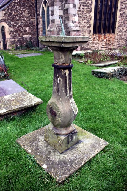 Sundial in the Churchyard of St Mary's, Conwy