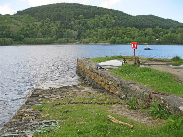 Old jetty at Crinan Ferry