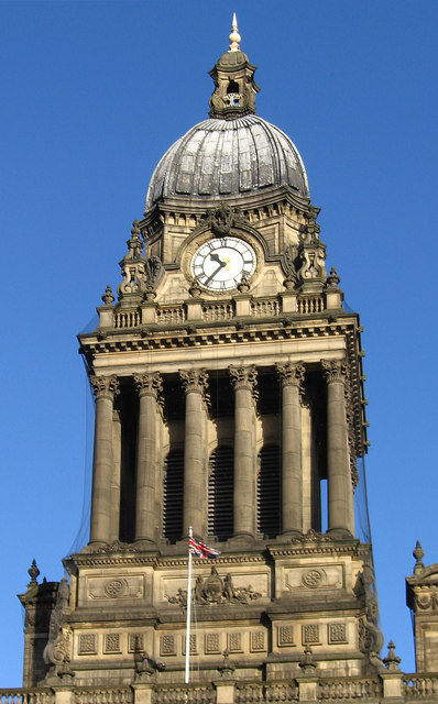Leeds - Town Hall clock tower