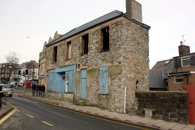 Dilapidated Building in Conwy