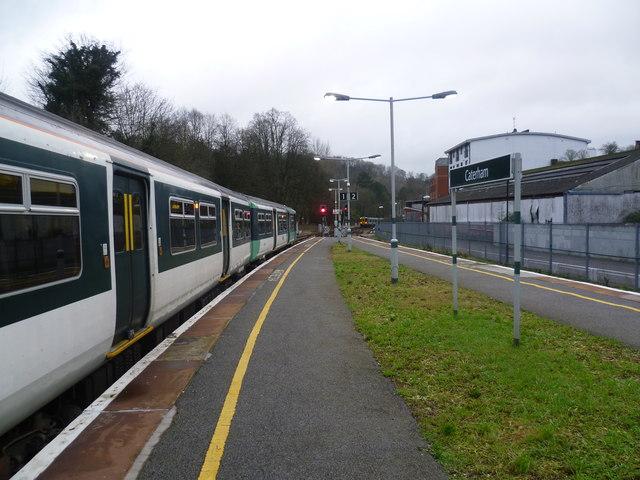 Trains at Caterham