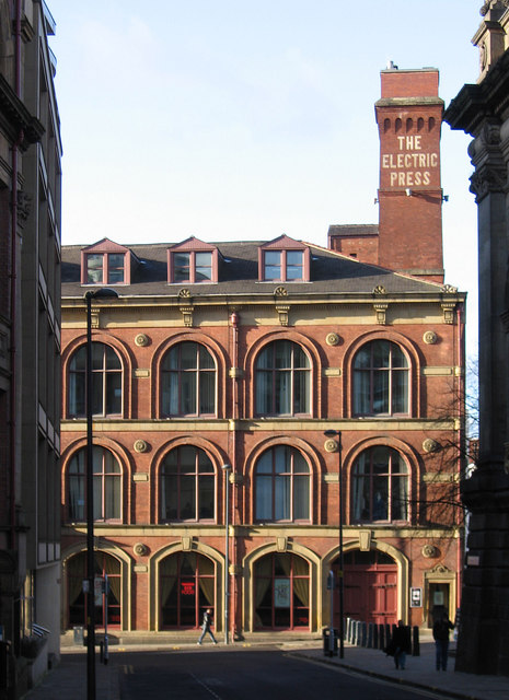 Leeds - The Electric Press building