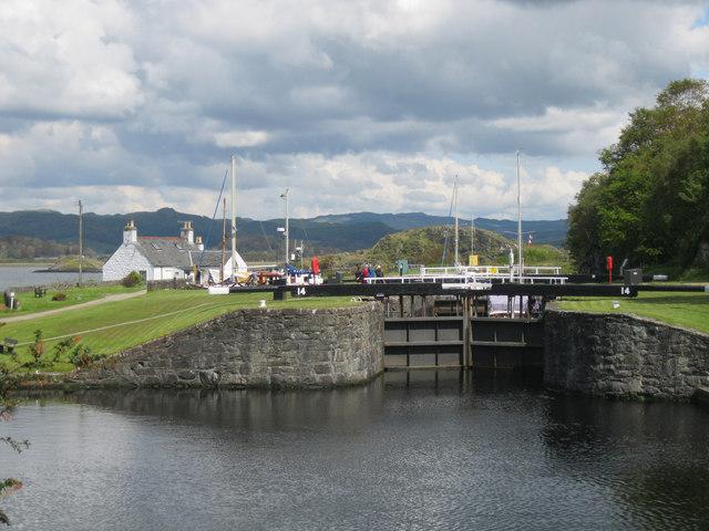 Lock 14, Crinan Canal