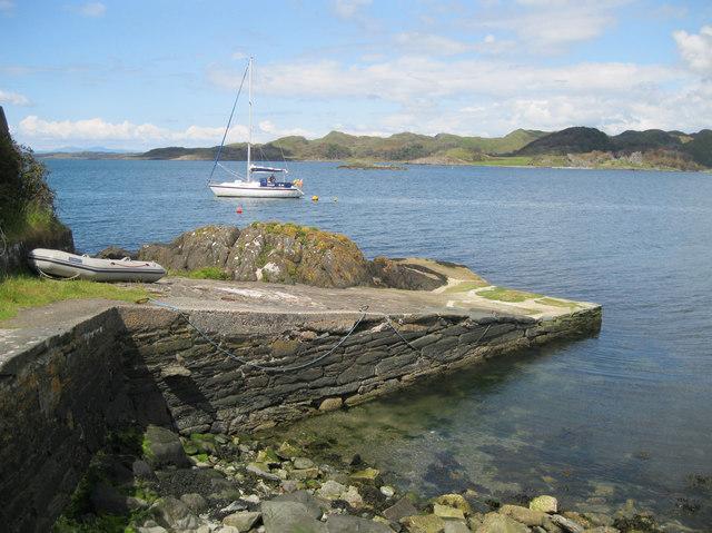 Crinan jetty