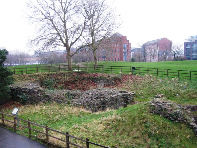 Bristol Castle, remains