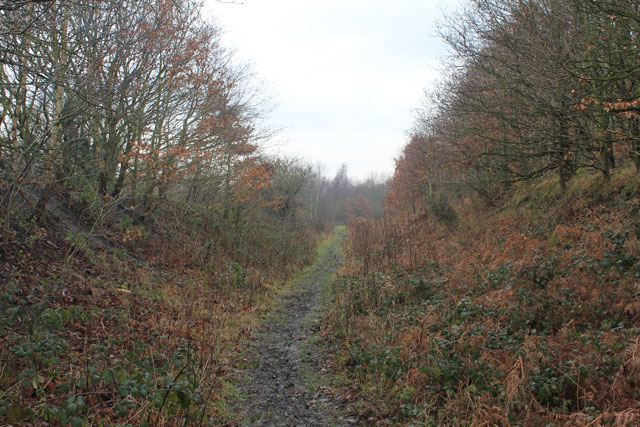 Path on part of old Barnsley canal