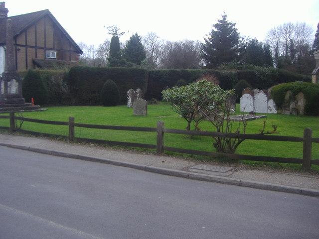 Churchyard, High Street Rusper
