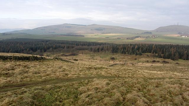 North side of Craigluscar Hill