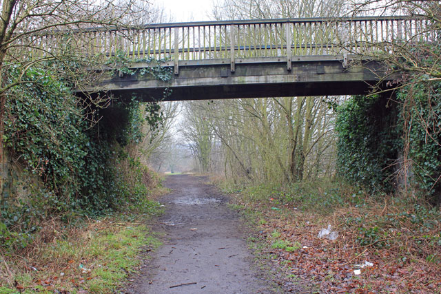 Aqueduct over LNER track