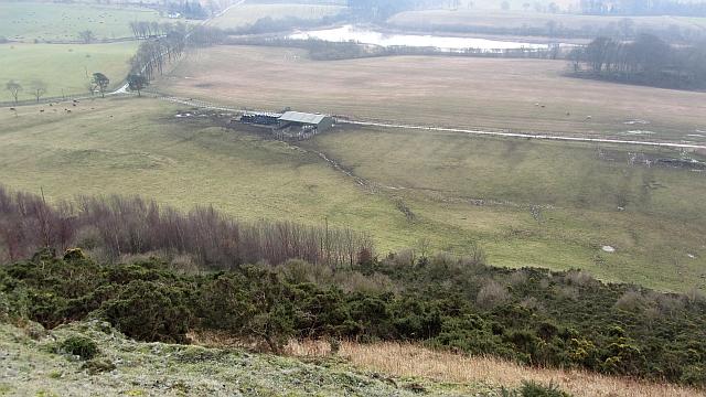 View from Craigluscar Hill