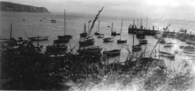 Abersoch harbour c1956