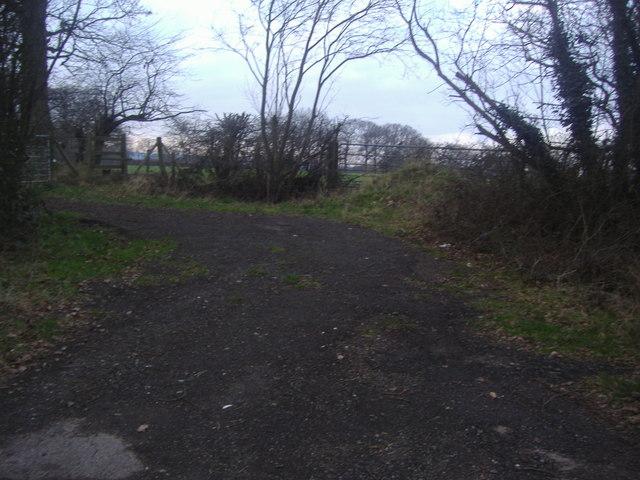 Field entrances, Newdigate Road
