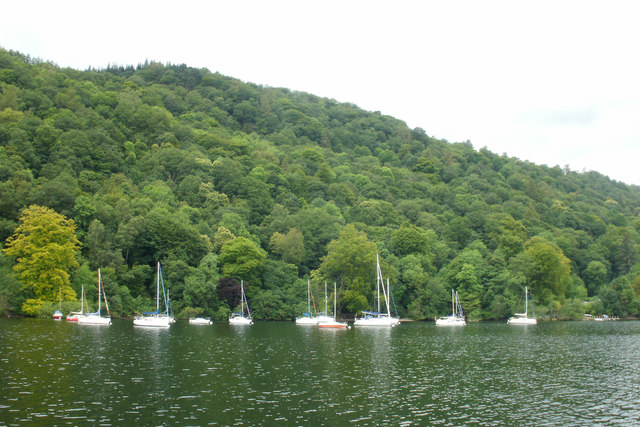 Boats moored by Strawberry Gardens