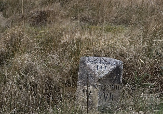 Milestone on the 'high road', Islay
