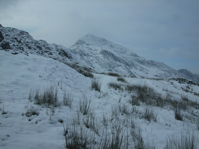 Crib Goch from near Pen-y-Pass (2)