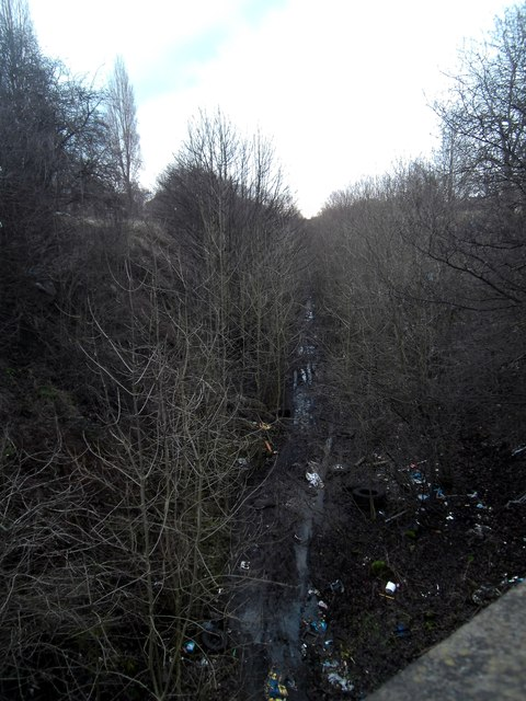 Disused Railway line,looking towards Cutsyke.