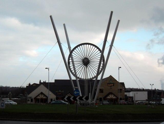 The Glasshoughton Wheel and Birkwood Farm Pub