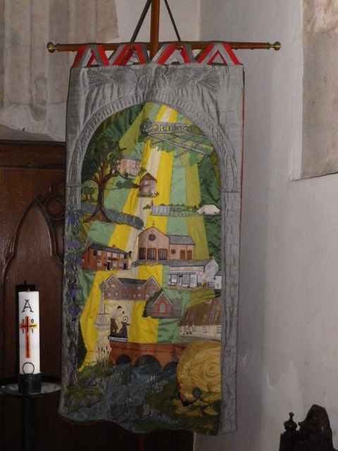 St Peter's at St Mary Bourne- banner