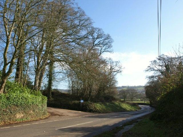 A373 near Awliscombe House