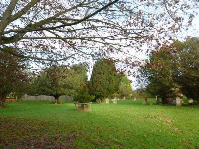 St Peter's at St Mary Bourne- late autumn leaves