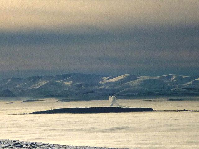 Penrith Beacon and the Helvellyn range